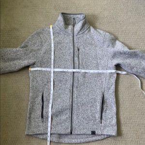 LL Bean Sweater Fleece Zip Up Jacket - Small